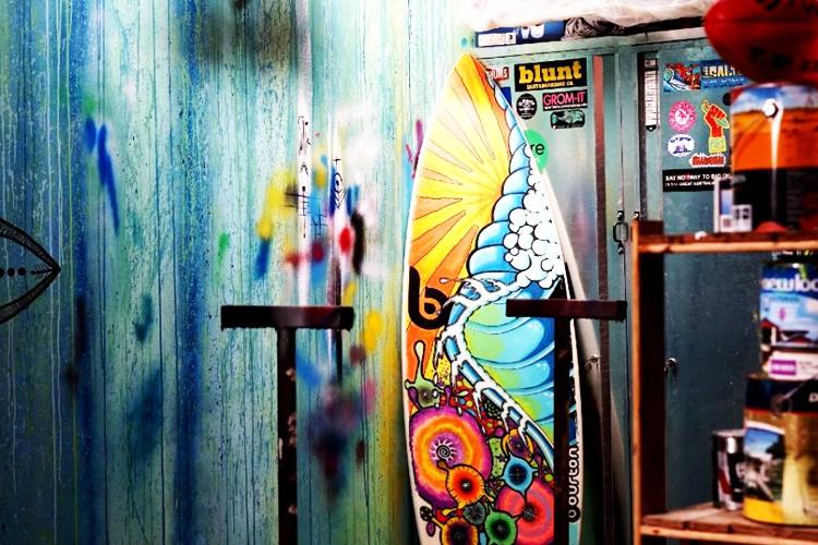 Sala de pintura y decoración