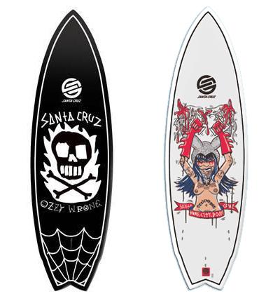 tabla de surf de Ozzie Wright