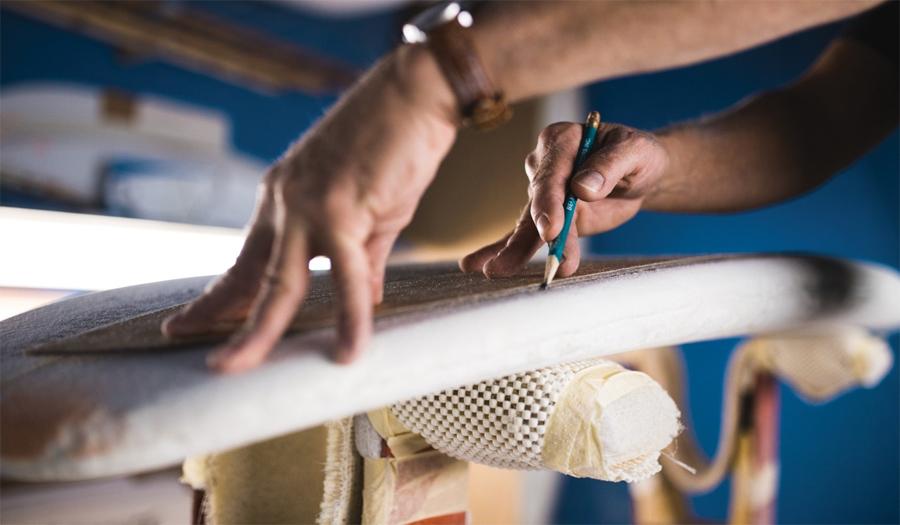 Hacer una tabla de surf Guía paso a paso